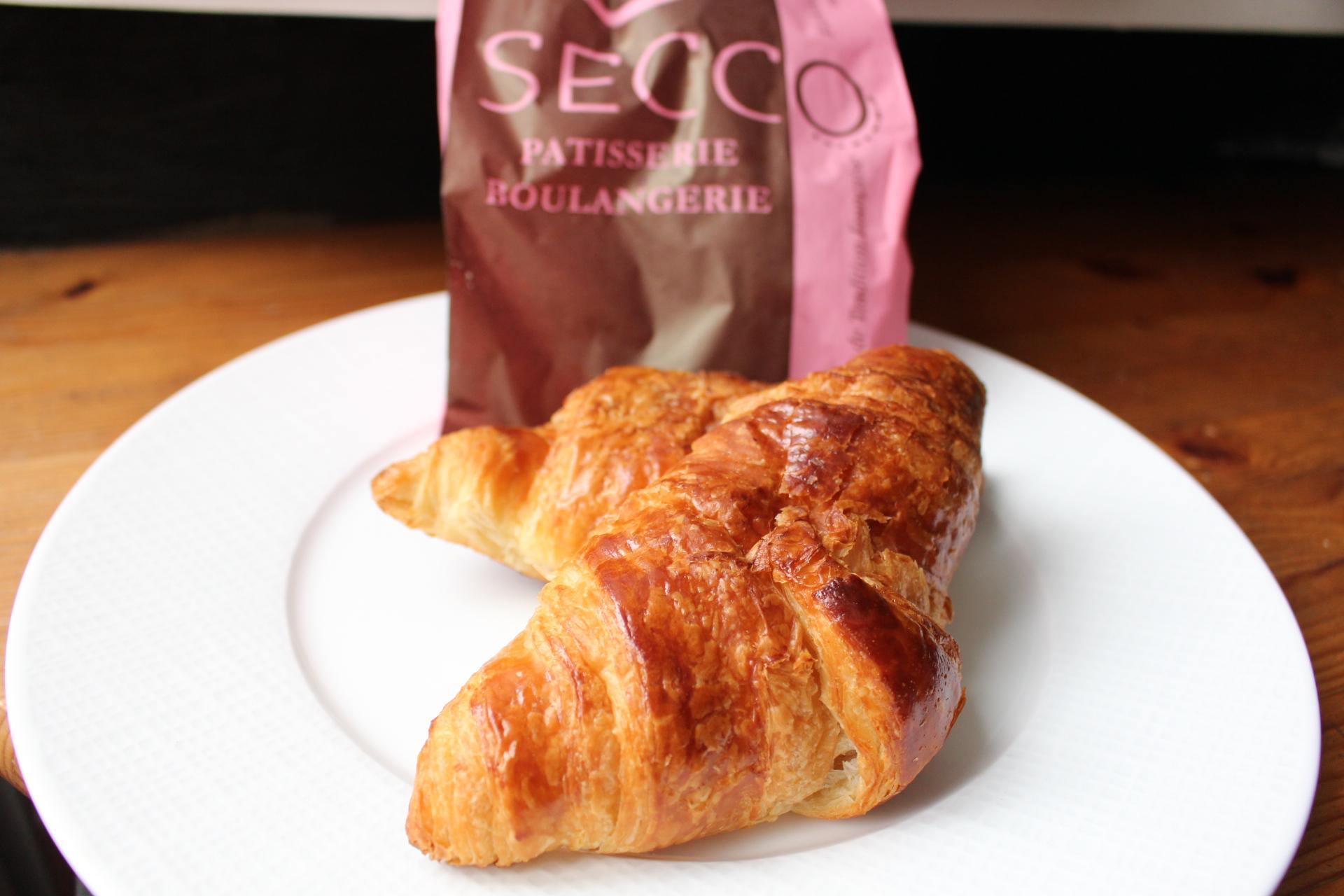 【日本未上陸!おいしいパリのパン!】SECCO(元プージョラン)のクロワッサン