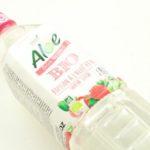 【デザインがGOOD!】アロエジュース(ライチフレーバー)!