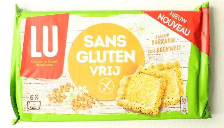 【New!】LUそば粉のクッキー!グルテンフリー