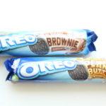 【New!】オレオのクッキー、ブラウニー味とピーナッツバター味!
