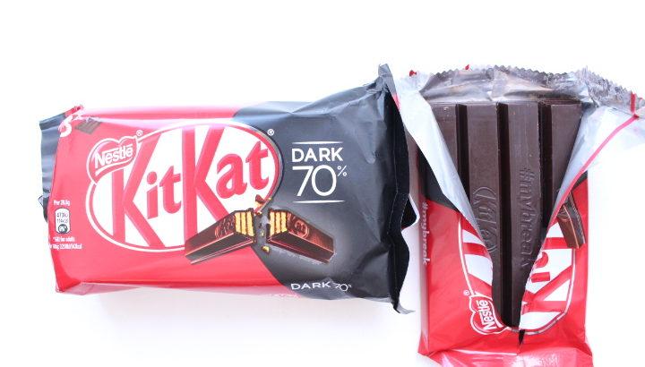 【番外編ポルトガル】キットカット 70%ココアと、ホワイトチョコ