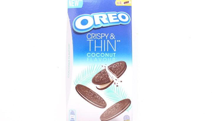 【New!】オレオの薄型ビスケット、ココナッツ味!